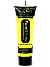 Paint Glow Glow In The Dark Body Paint - Yellow